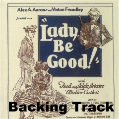 Lady Be Good Backing Track